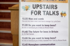 A great line-up of talks at the Wiltshire Bee & Honey Day 2019