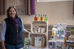 Claire Barker exhibits with Hive Originals at the Wiltshire Bee & Honey Day 2019